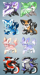 Lifes of Cetris - Adopts 1 by Yechii