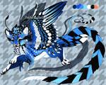 Brilliant feather design CLOSED