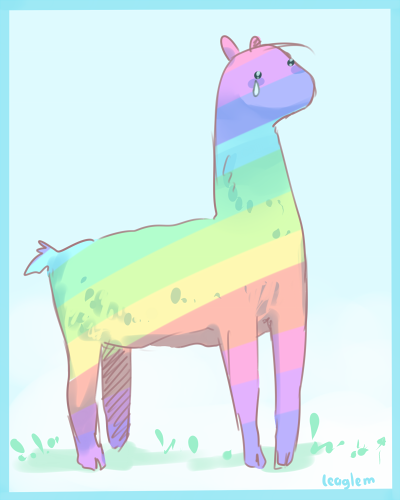 Picture Of A Llama Crying: Cry, Llama. Cry By Leaglem On DeviantArt