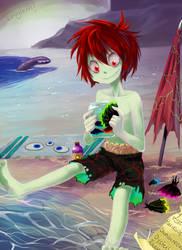 HM: Swimsuit? by Leaglem