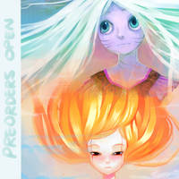 GAIA ARTBOOK PREVIEW by Leaglem