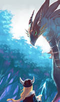 Dragon by Leaglem