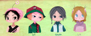 Just those kids by Leaglem