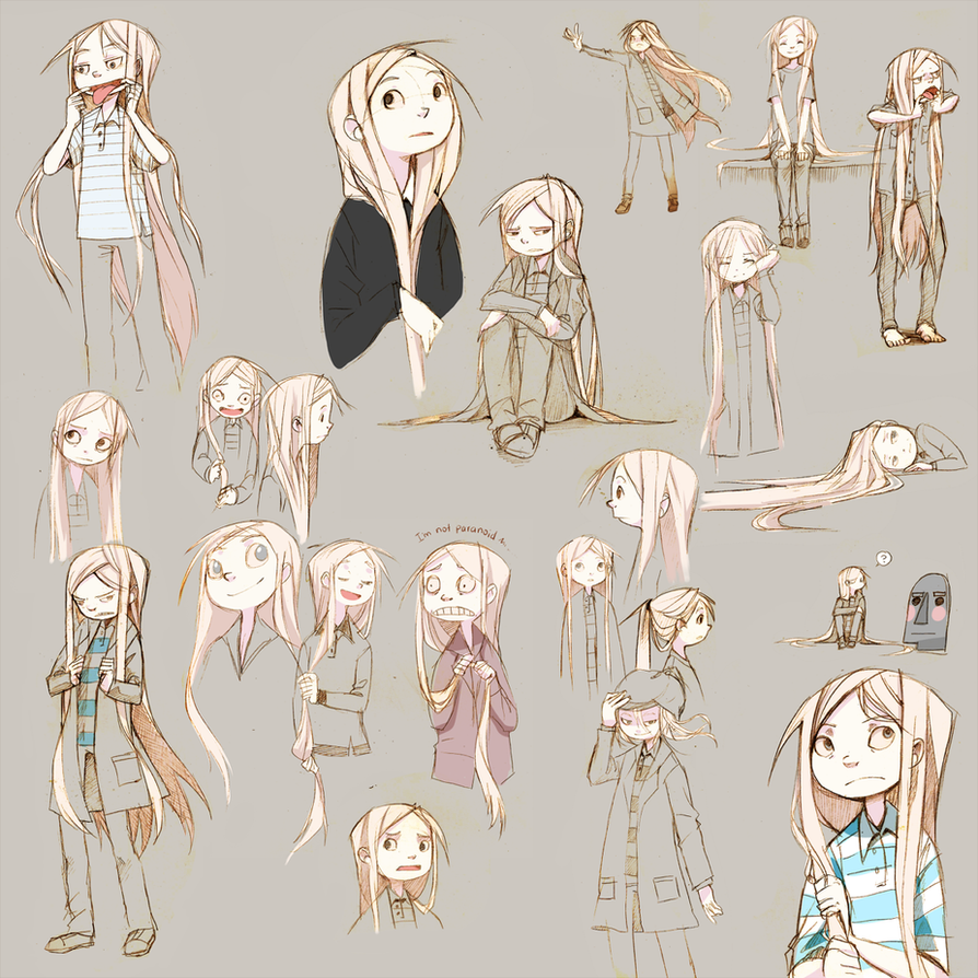 Character Design Body : Dotdles by leaglem on deviantart