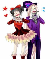 Clowns by Leaglem