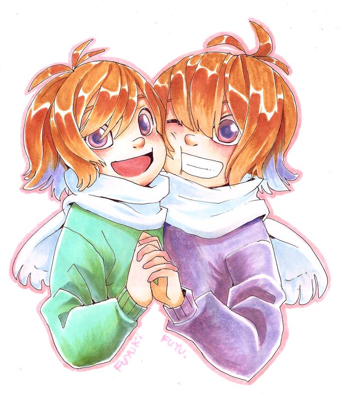 The Fuyuki Twins by Leaglem