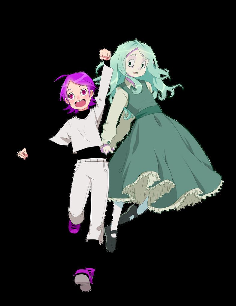 Kooanne and Phide by Leaglem