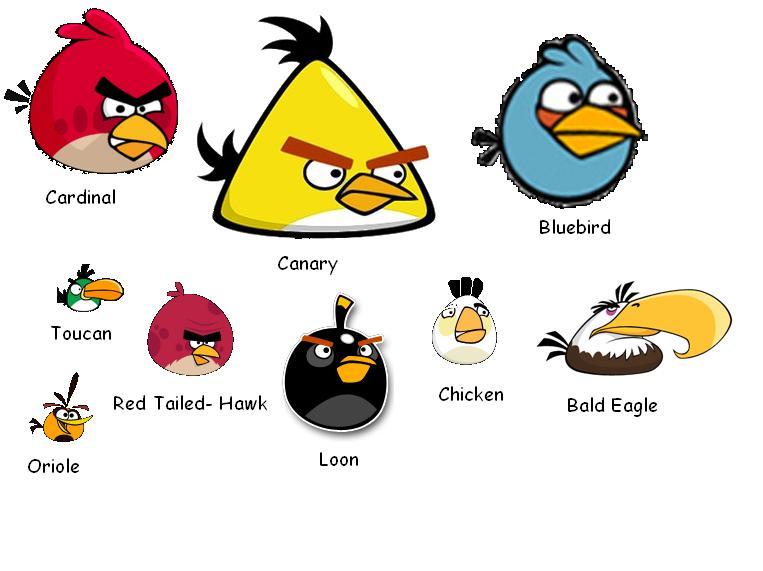 Angry Birds Playing Card Deck And Vector Characters: Wang123's Remix Of JUNIOR LEARNING ZONE