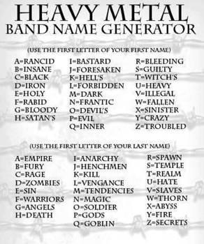 Commando name generator