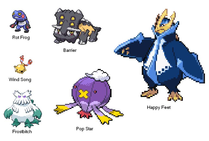 Pokemon Pearl Team 8.25.2012 by SpiderMatt512