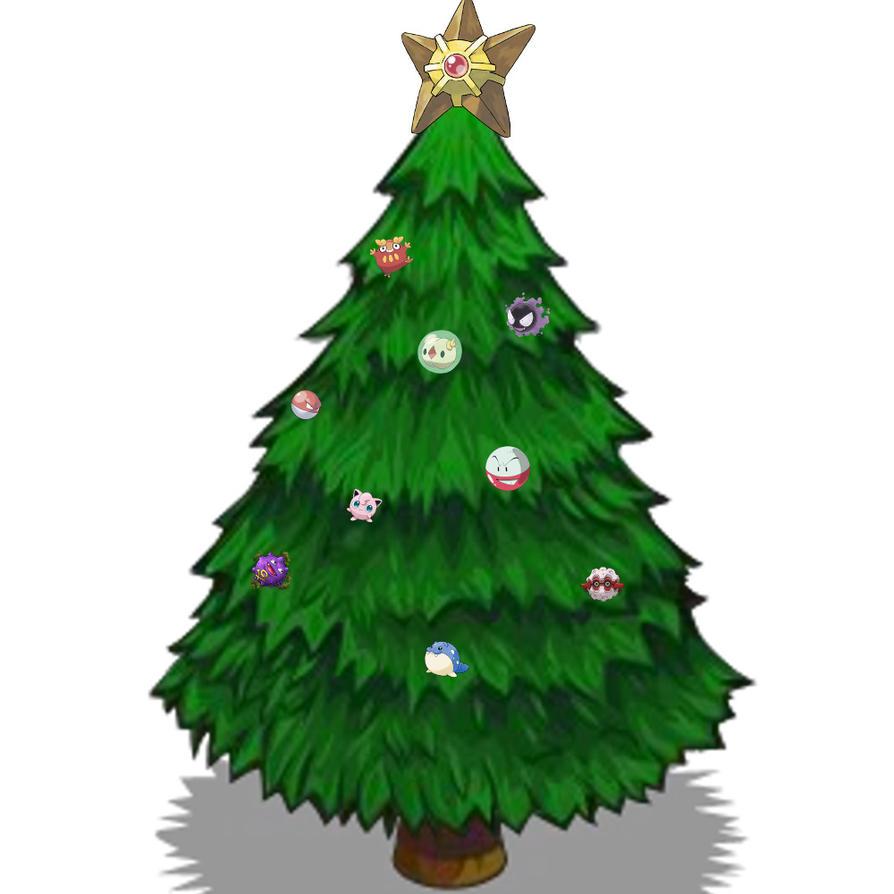 Pokemon Christmas Tree by SpiderMatt512 on DeviantArt