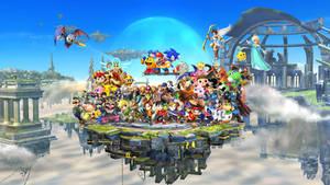 Super Smash Bros For 3DS/Wii U Poster