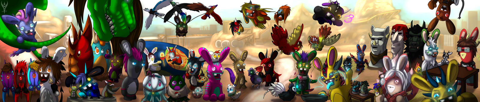 Easter Egg Hunt - Rabbit Style by Arenthor