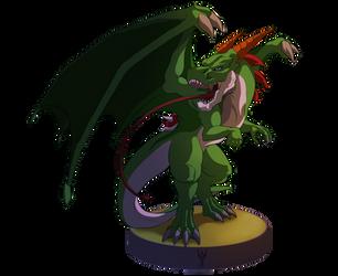Amiibo - Dragon Yoshi by Arenthor
