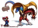 SuperSmashDragons - Mario