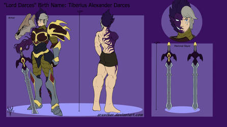 Reference Sheet: Lord Darces
