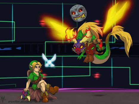 SuperSmashDragons Melee - Young Link (Unlocked)