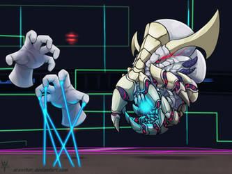 SuperSmashDragons Melee - Boss Master - Crazy Hand