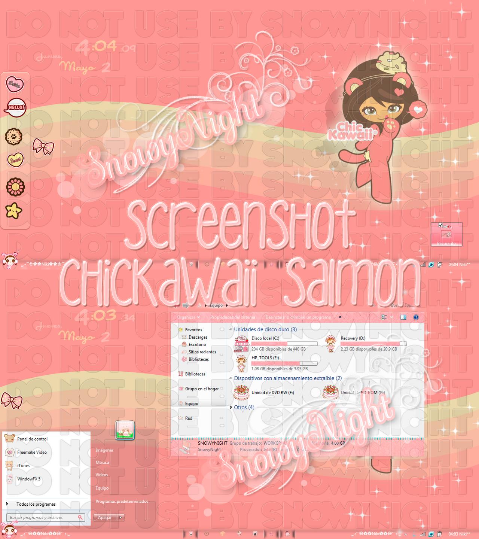 ChicKawaii Salmon by SnowyNight by SNOWYCITA
