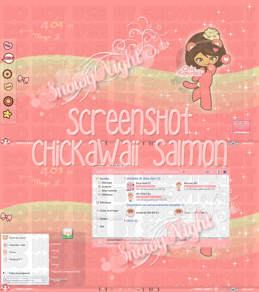 ChicKawaii Salmon by SnowyNight by SNOWYCITA