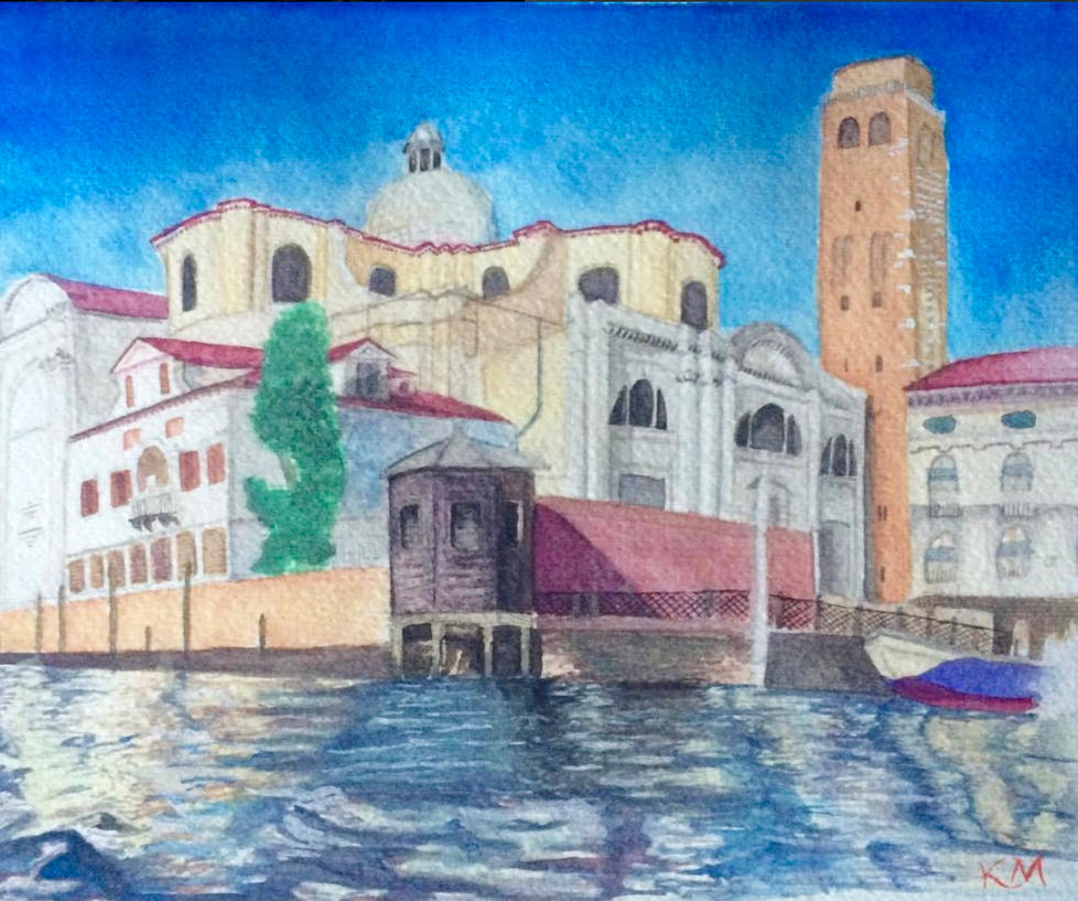Venice by kelsmarinoart
