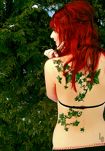 Ivy tattoo and redhead 5 by lioa on deviantart for Poison ivy vine tattoos