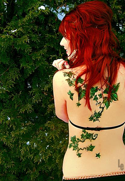 ivy tattoo and redhead 5