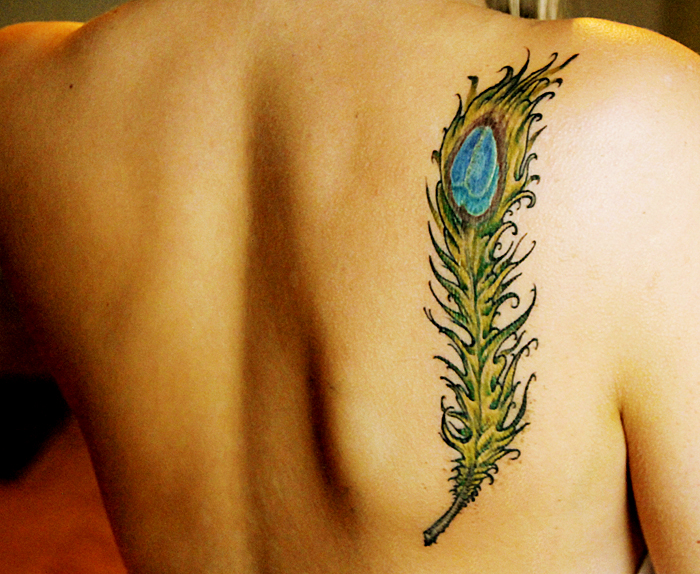peacock feather tattoo by Lioa on deviantART