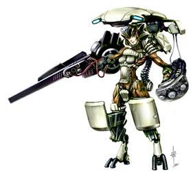 Assault Armor Girl by kometani