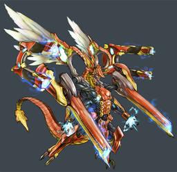 armored dragon by kometani