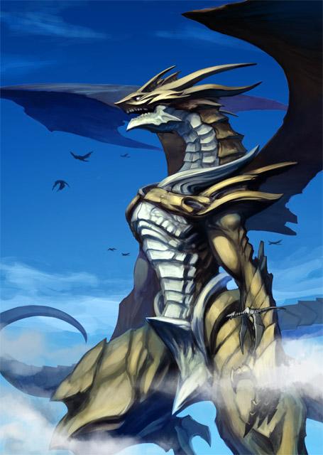 Hakairyuha (Dragones de la destrucción) Bahamut_by_kometani