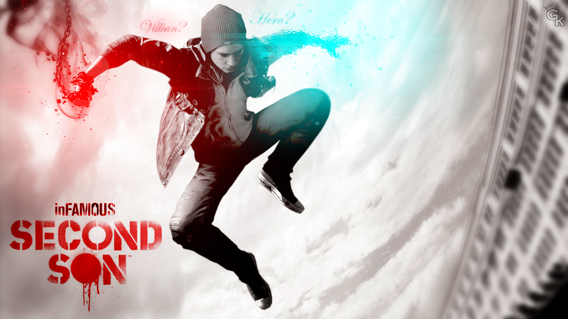Infamous Second Son Wallpaper - Delsin Rowe by General-K1MB0