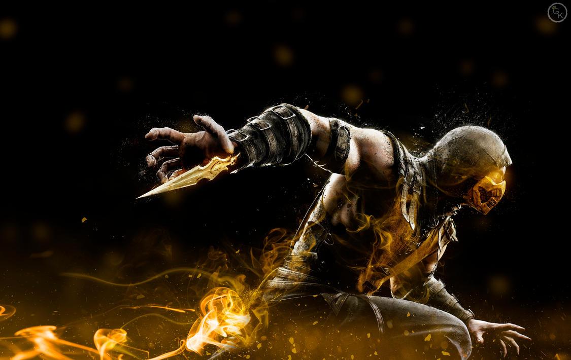Mortal Kombat Scorpion Wallpapers Wallpaper