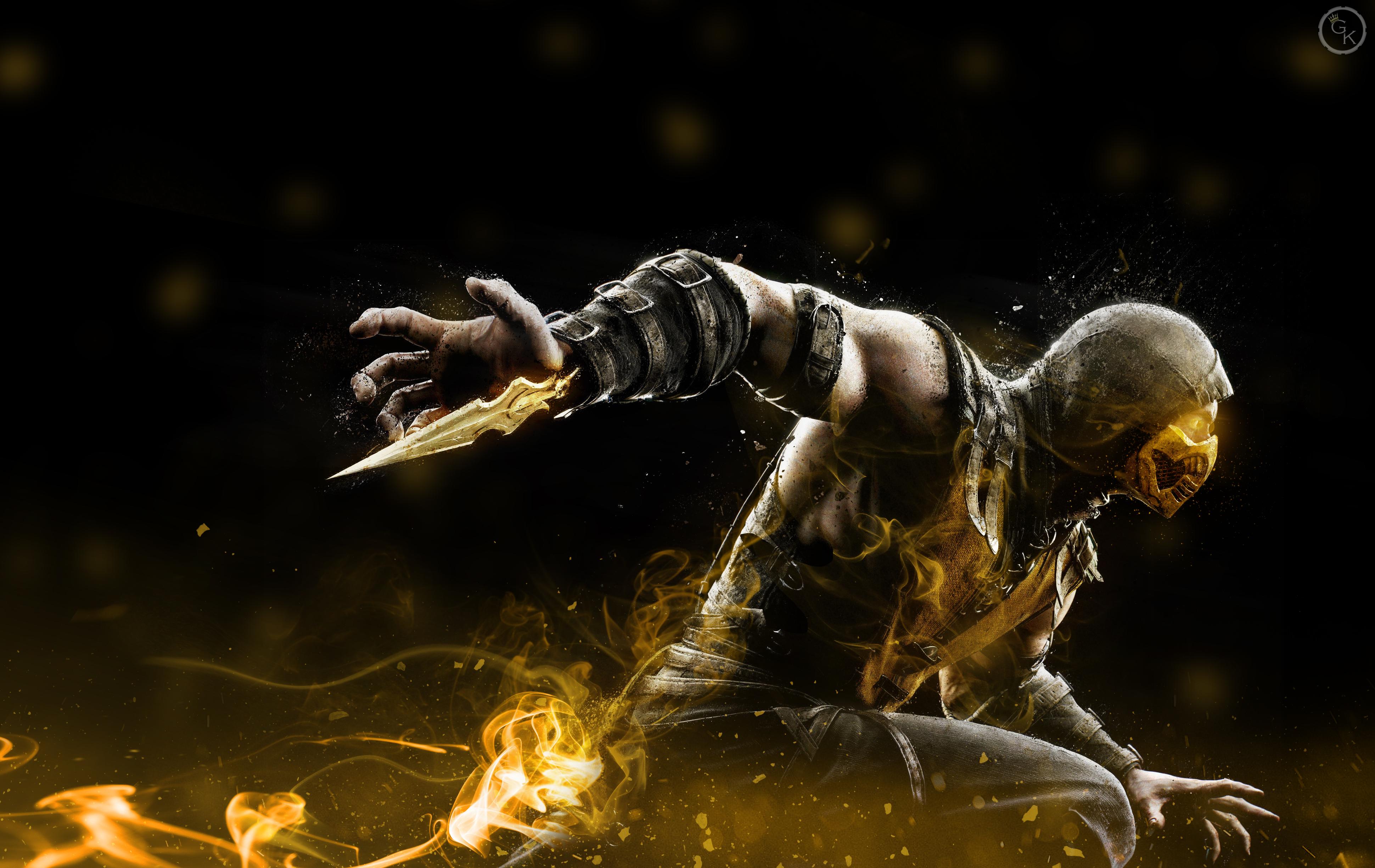 Mortal Kombat X Scorpion By General K1mb0 On Deviantart