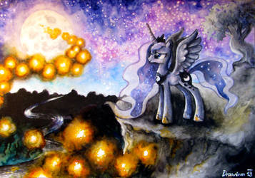Wonders in the sky by Drawirm