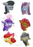 Pony heads #2 (speedpaint practice)