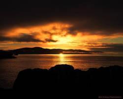 Otter Point Sunrise by AgilePhotography