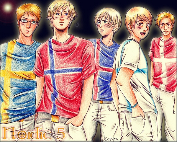 Nordic Five by AkariMarco