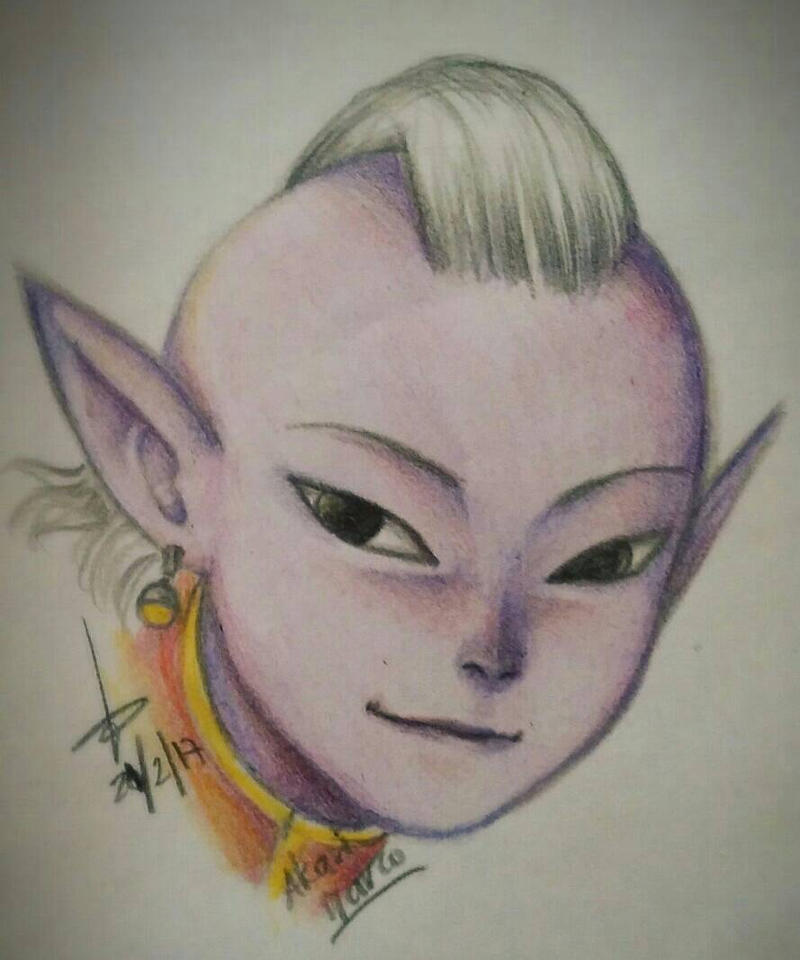 Kai in pencils by AkariMarco