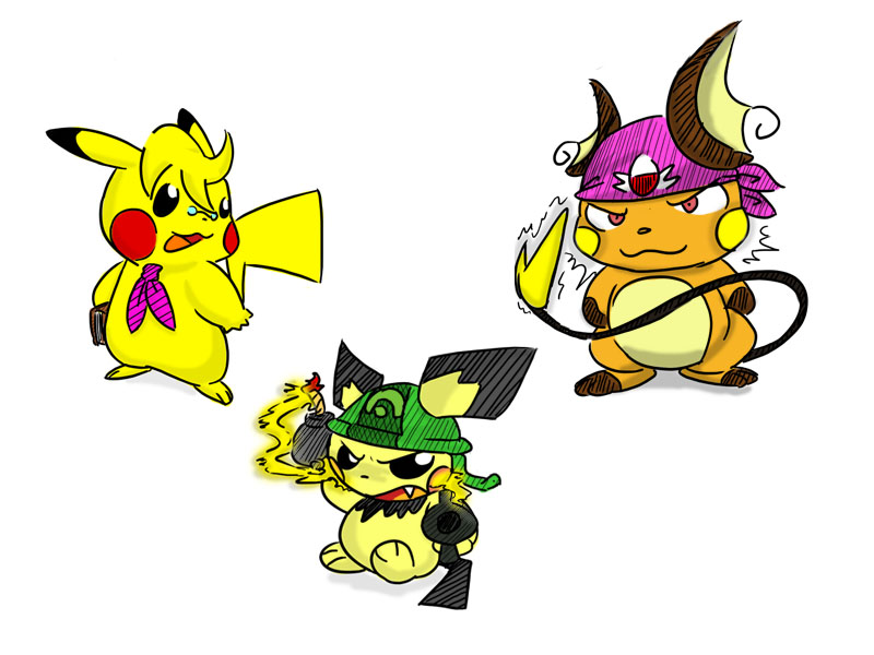 Pokemon Pikachu Evolution Images   Pokemon Images