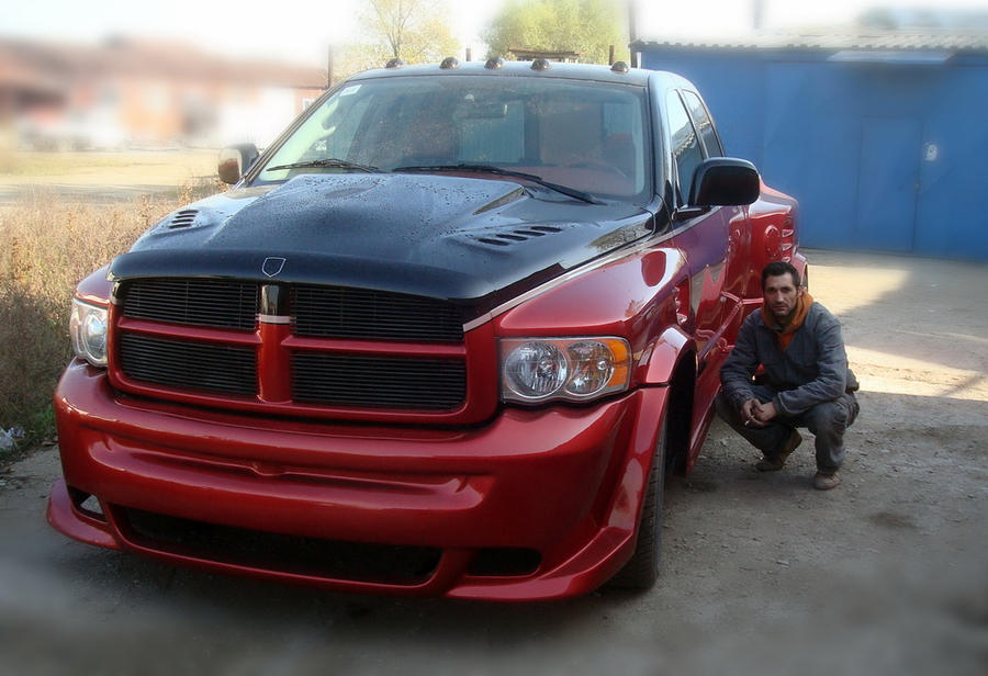 Dodge Ram 1500 Custom Tuning By Petrica Mardare On Deviantart
