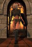 Warrior in the Doorway