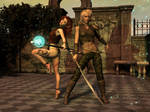 Sword and Staff