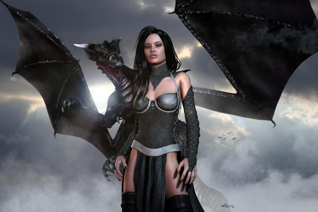 Black Dragonlord by Bad-Dragon