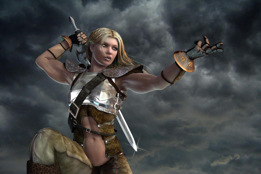 Tala the Warrior by Bad-Dragon on DeviantArt