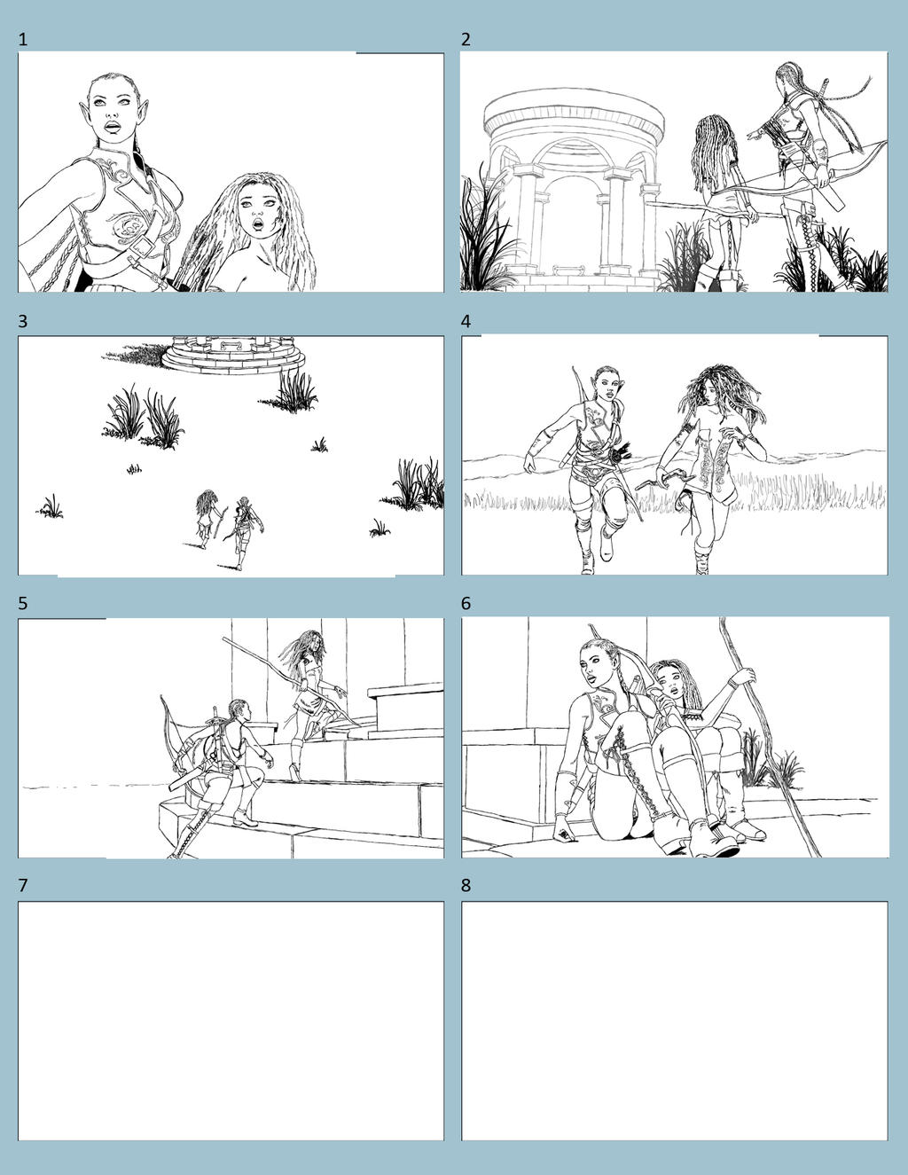 ... Storyboard Project 1 By Bad Dragon