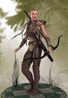 Leena concept chapter 3 of The Androssian Prophecy by Bad-Dragon