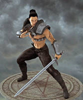 Kingu Character Concept by Bad-Dragon