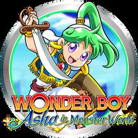 WONDER BOY Asha in Monster World Game Icon