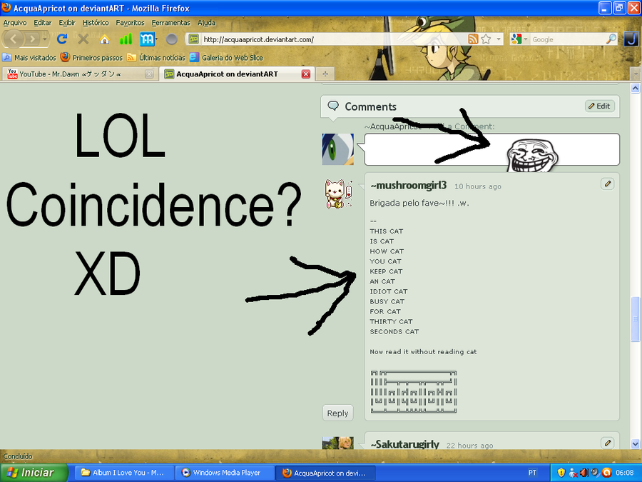 Coincidence lol by AcquaApricot